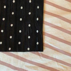 Zara Pants - Zara Crimped Polka Dot Pants